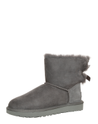UGG, Dames Snowboots 'Mini Bailey Bow II', grijs