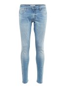 G-STAR RAW, Heren Jeans '3301 Deconstructed Skinny', blauw