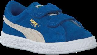Puma Baskets SUEDE 2 STRAPS en bleu