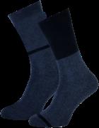 Marcmarcs Chaussettes ALLARD COTTON 2-PACK en bleu