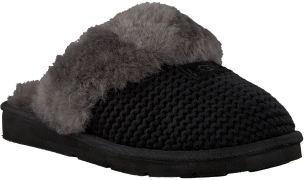 UGG Chaussons COZY KNIT SLIPPER en noir