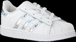 Adidas Baskets SUPERSTAR EL I en blanc