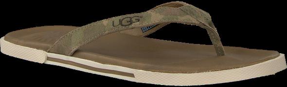 UGG Tongs BENNISON II en vert