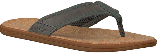 grey UGG shoe SEASIDE FLIP