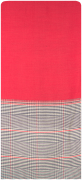 NOTRE-V Foulard CAITLIN en rouge