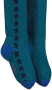 Le Big Chaussettes PADMA TIGHT en bleu