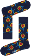 Happy Socks Chaussettes SUNFLOWER SOCK en bleu