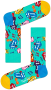 Happy Socks Chaussettes ROLLING STONES THUMBLING SOCK en multicolore