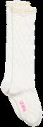 Le Big Chaussettes ROCHELLE KNEE HIGH en blanc