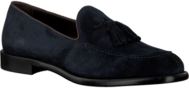MAZZELTov Loafers 9524 en bleu