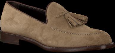 MAZZELTov Loafers 9524 en taupe