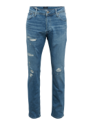 JACK & JONES, Heren Jeans 'JJITIM JJORIGINAL JJ 177', blauw denim