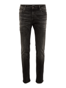 JACK & JONES, Heren Jeans 'JJITIM JJORIGINAL JOS 709 NOOS', black deni...