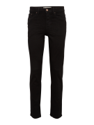 NEW LOOK, Heren Jeans 'JUSTIN BLACK STRAIGHT', black denim