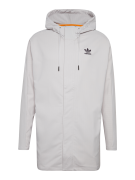 ADIDAS ORIGINALS, Heren Tussenjas 'Pinstripe Hooded Coach Jacket', wit